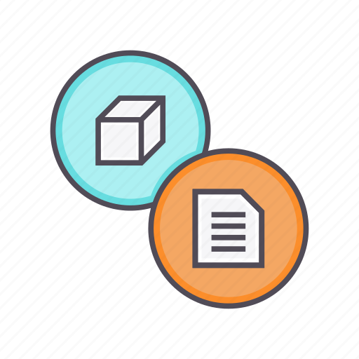 description, details, documentation, info, product, specification icon