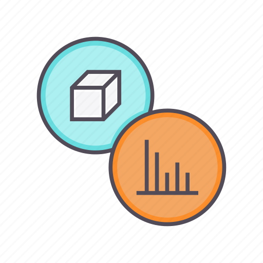 analysis, analytics, graph, package, product, sales, statistics icon
