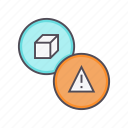 alarm, alert, caution, danger, error, product, warning icon