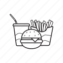 fast food, junk food, snacks icon