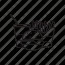 fast food, junk food, snacks icon