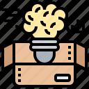 brainstorming, creative, idea, innovative, thinking icon