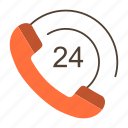call, communication, phone, support icon