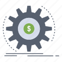 finance, flow, income, making, money icon