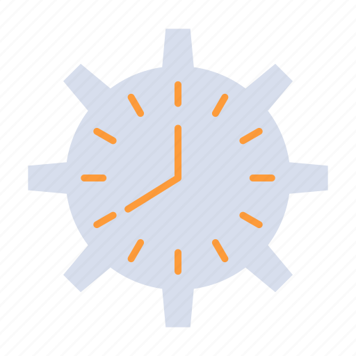 clock, deadline, time, timepiece, timing, watch, work icon