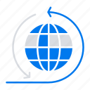 business, global, network icon
