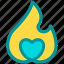 enthusiasm, fire, hot, love, news