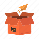 box, business, package, product, release, shipping, startup