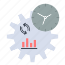 business, engineering, management, process icon