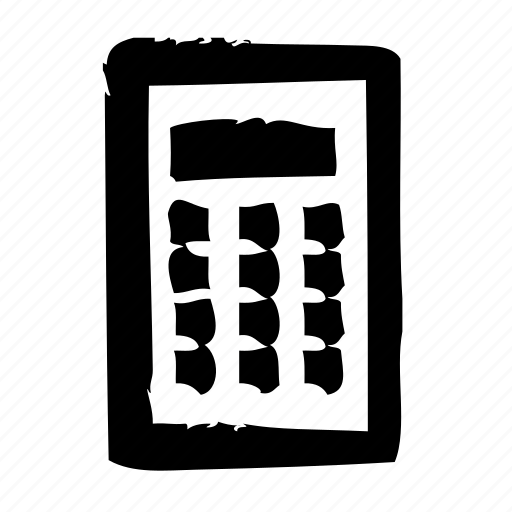 calculator, efficiency, office, optimization, performance, productivity icon