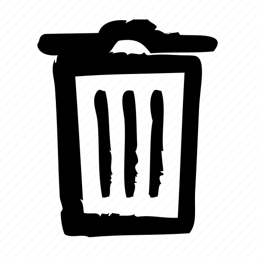 archive, efficiency, office, optimization, performance, productivity, trash icon