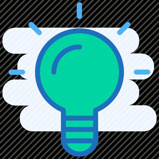 Bulb, idea, light, light bulb, productivity, shine icon - Download on Iconfinder