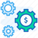 cog, gear, gears, mechanism, preferences, settings icon