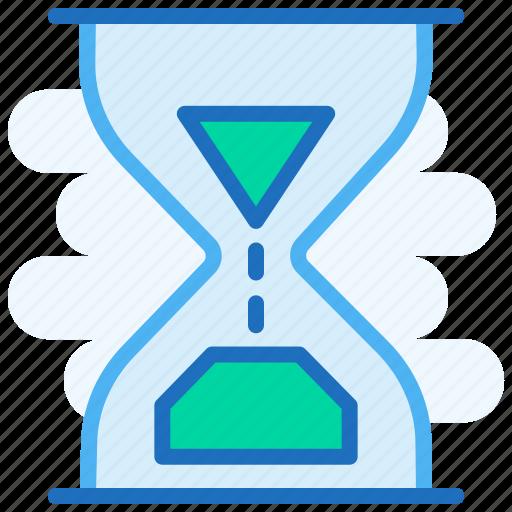 Bottle, clock, glass, sand, sand clock, sand time icon - Download on Iconfinder