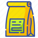 bag, design, pack, package, packaging, paper, shopping icon
