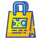 bag, market, package, paper, plastic, shopping, supermarket icon