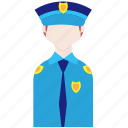 cop, male, police, policeman, profession