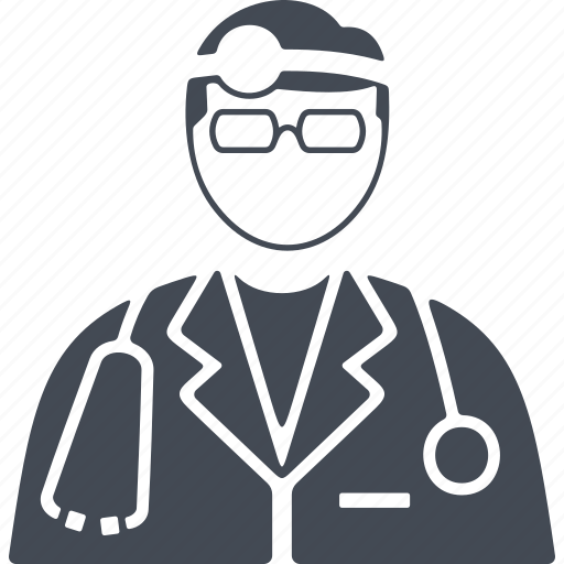 bathrobe, doctor, job, profession, stethoscope icon