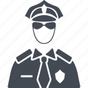 job, man, policeman, profession, uniform icon