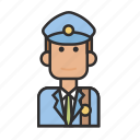 job, man, postman, profession icon