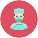 avatar, doctor, health, hospital, occupation, operation, profile icon