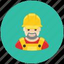 avatar, builder, engineer, fix, man, occupation, profile icon