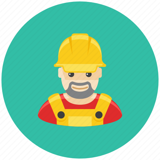 avatar, builder, engineer, fix, man, occupation, profile icon