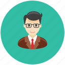 avatar, business, man, occupation, office, profile, team