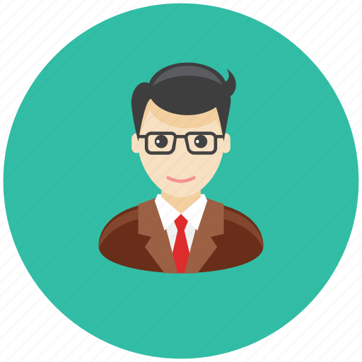 avatar, business, man, occupation, office, profile, team icon