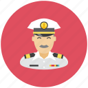 anchor, avatar, captain, occupation, profile, sea icon