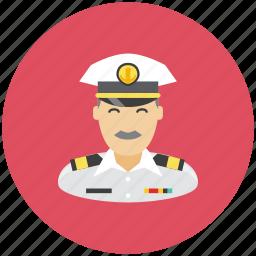 anchor, avatar, captain, occupation, profile, sea icon
