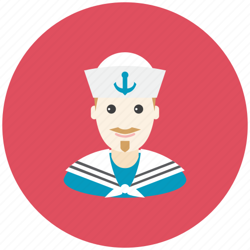 anchor, avatar, occupation, profile, sailor, sea, ship icon