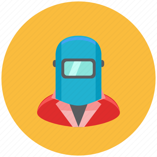 avatar, fire, fix, occupation, profile, repair, welder icon