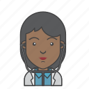 avatar, character, doctor, people, profession, profile, woman