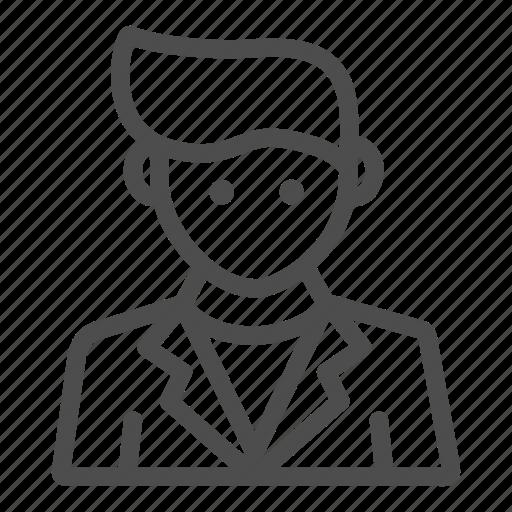 avatar, bartender, male, man, profesion, waiter icon