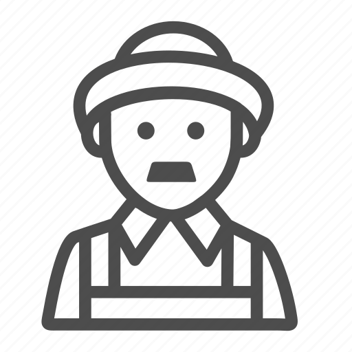 Farmer, agriculture, avatar, male, man icon - Download on Iconfinder