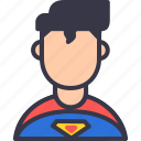 avatar, character, comics, dc, inspiression, superhero, superman icon