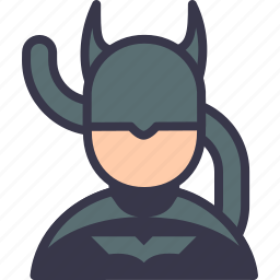 avatar, batgirl, batman, character, comic, supergirl, superhero icon