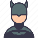 avatar, batman, character, comics, dark, nightman, superhero icon