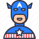 america, avatar, avenger, caption, character, marvel, movie icon