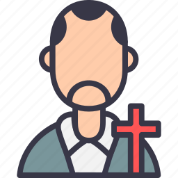avatar, christ, church, cross, father, jesus, padri icon