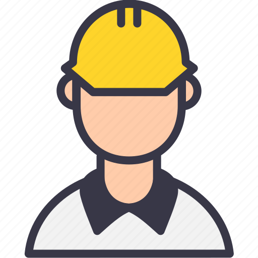 avatar, civil, construction, constructor, engineer, instructor, superwiser icon