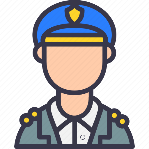 army, avatar, caption, javan, military, officer, police icon