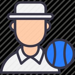 avatar, ball, cricket, legumpire, oneday, test, umpire icon