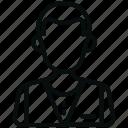 avatar, hotel services, man, office, restaurant, user, waiter icon
