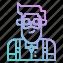 avatar, bartender, boy, groom, hipster, man, profile
