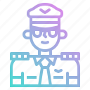 avatar, job, occupation, people, pilot icon