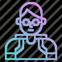 avatar, boy, man, people, profile, student, user icon