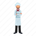 avatar, character, chef, male, men, professions icon