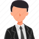 avatar, business, character, male, men, professions icon
